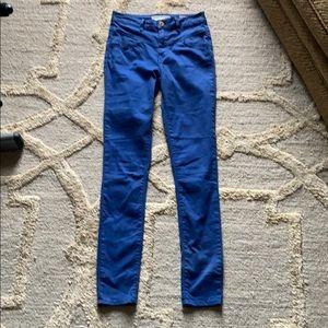 Bullhead denim cobalt blue pants